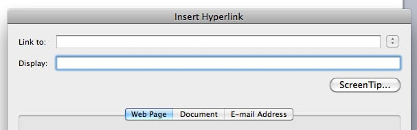 how to put in hyperlinks in word for accessibility
