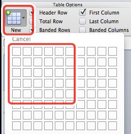 how to create headings in word 2013