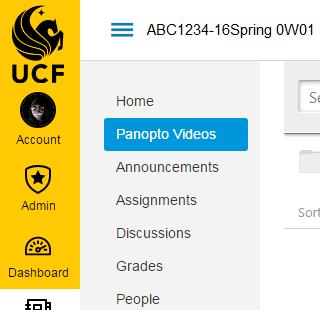 Panopto Access | UCF