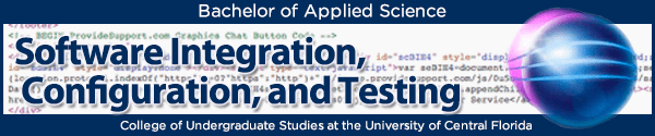 Banner Example for Software Integration, Configuration, and Testing