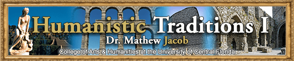Banner Example for Humanistic Traditions I
