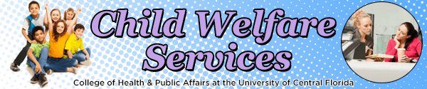 Banner Example for Child Welfare Services
