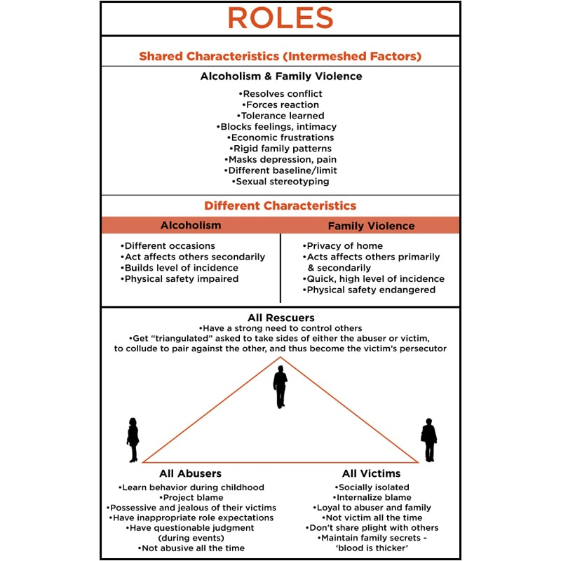 Infographic of Roles