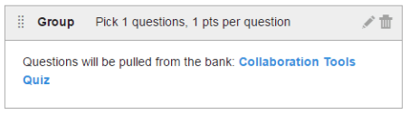 linked question bank