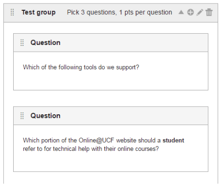 question group