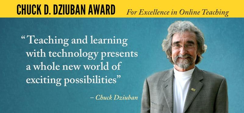 Dziuban Award Banner