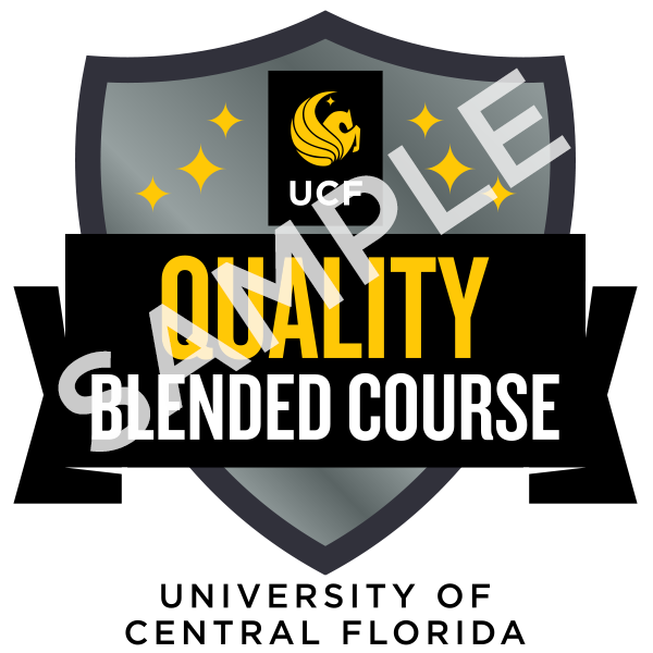 Quality Blended Course Badge